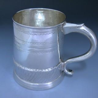 Antique Britannia Standard Silver Queen Anne Mug made in 1704