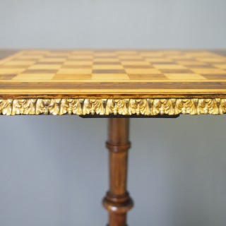Regency Scumbled Games Table