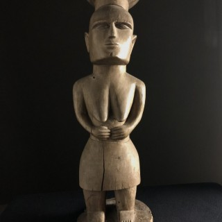 Wood Carving Ancestor Figure Early 20th century Indonesia