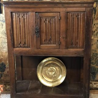 16th Century Oak Linenfold Buffet
