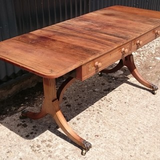 Early 19th Century George III Period Antique Sofa Table