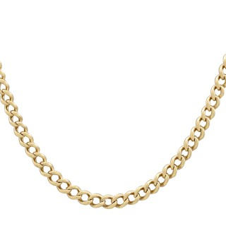 15ct Yellow Gold Necklace / Watch Chain - Antique Circa 1900