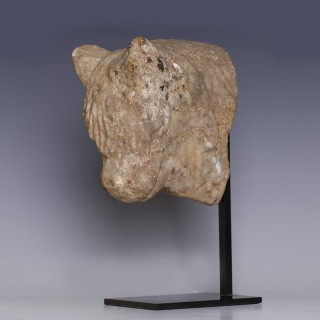 Achaemenid Bovine Head Fragment