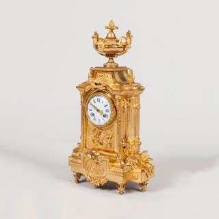 French Ormolu Garniture de Cheminee by Japy Freres et Cie
