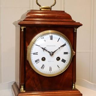 Small Edwardian Caddy Top Mantel clock
