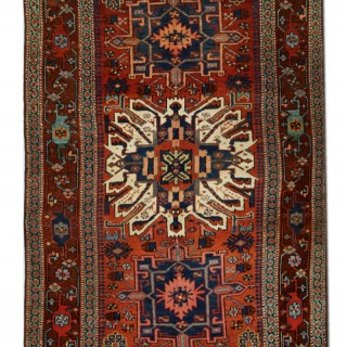 Antique Handwoven Persian Rug 137x 260cm