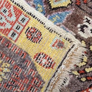 Antique Persian Bidjar Rug 102x210cm