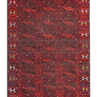 Antique Persian Turkman Rug 110x204cm