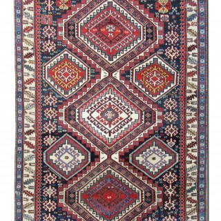 Antique Caucasian Shirvan Rug 120x165cm
