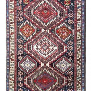 Antique Caucasian Shirvan Rug 120x165cm