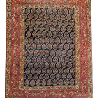 Antique Persian Bidjar Rug 177x223cm