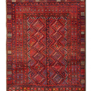Antique Persian Turkman Rug 160x190cm