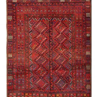 Antique Persian Turkman Rug 160x190cm