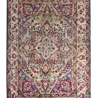 Traditional Persian Kirman Rug 139x190cm