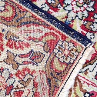 Traditional Persian Kirman Rug 139x190cm