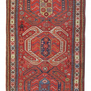 Antique Caucasian Rug 133x 233cm
