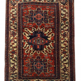 Antique Heris Carpet 140x190cm