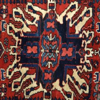 Antique Heris Carpet 140x190cm