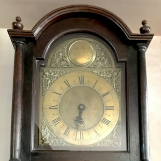 Grandfather Clock By John Barron of London