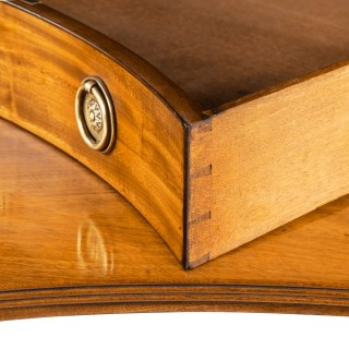 A Regency mahogany dressing table attributed to Gillows