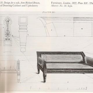 Regency Antique Sofa