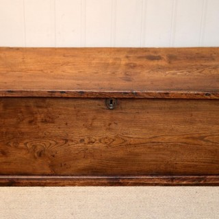 19th Century Elm Blanket Chest