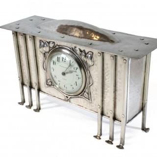 Glasgow School George Walton Arts & Crafts clock