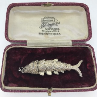 Large Silver Fish