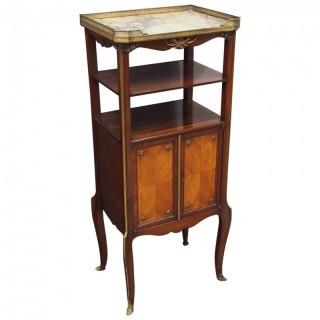 French Marble Top Etagere