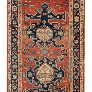 Antique Persian Heriz Rug 97 x 170 cm