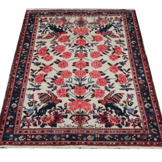 Antique Persian Afshar Rug 108x159 cm