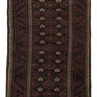 Antique Persian Balouch Rug 95x153cm