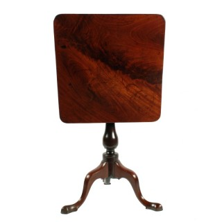 George II Mahogany Lamp Table