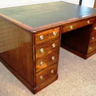 Early 19th Cent..  English Georgian Partners Desk