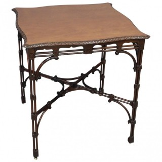 Chippendale Style Mahogany Occasional Table