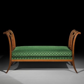 Fine 18th Century Window Seat by Georges Jacob