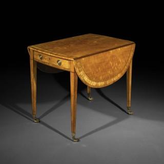 Fine George III Satinwood Pembroke Table
