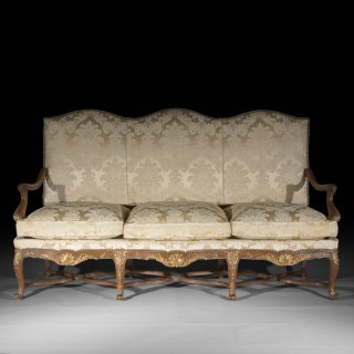 Antique French Regence Style Settee