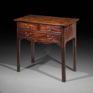 Small George III Side Table or Lowboy