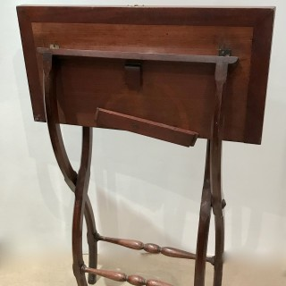 Folding Campaign Writing Table