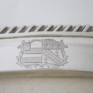 Paul Storr Antique Sterling silver meat plate
