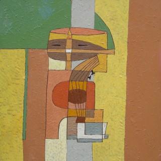 Saadi  by Denise Mannoni (1918 – 2003)