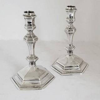 George I Silver Candlesticks