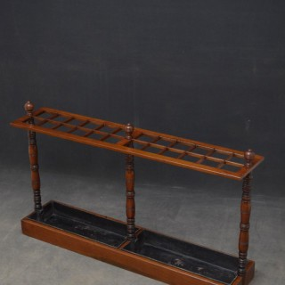 A Large Victorian Umbrella Stand in Mahogany
