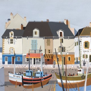 Le Port  by  Georges Damin (b. 1942)