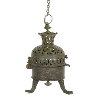 Moorish incense burner from Spain, dated to 10th to 12th Century