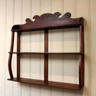 Early 19th Century Mahogany Wall Shelves