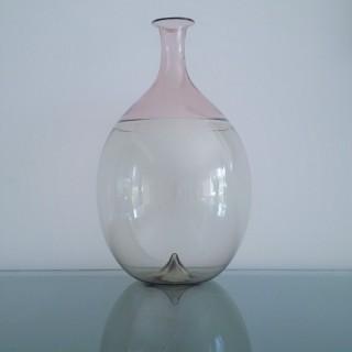 Venini  Bolle vase designed by Tarpio Wirkkala  1960's.
