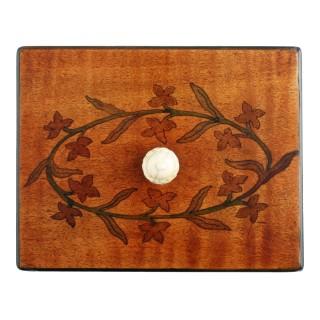 18th Century Satinwood Tea Caddy