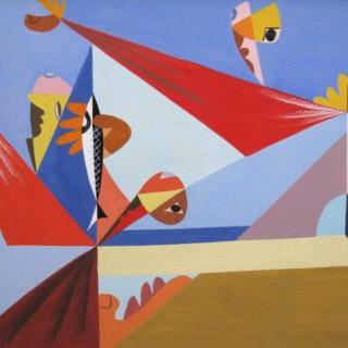 Étude pour Dynamisme  by  Léopold Survage (1879 – 1968)
